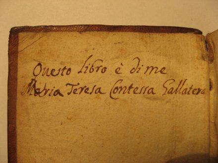 Ex-libris manuscrit.