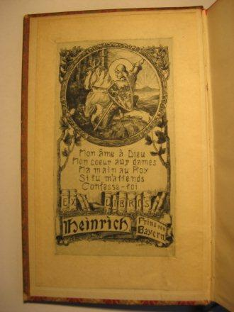 Ex-libris Heinrich