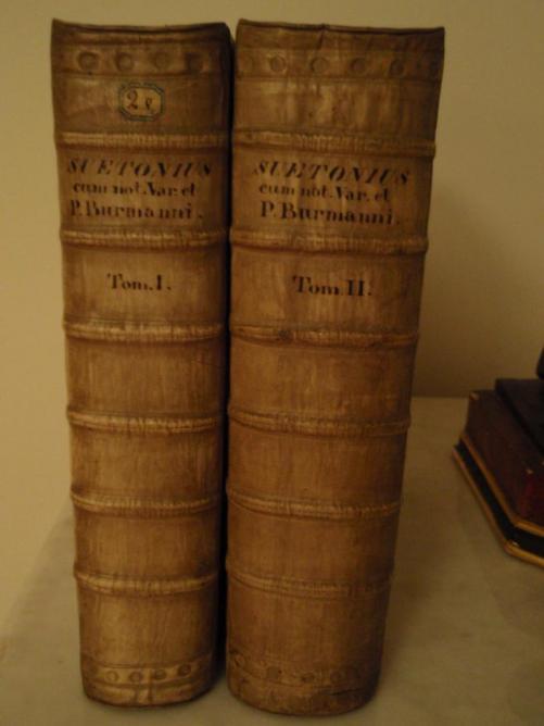 Reliure en vélin rigide - XVIIIe (reliure hollandaise)